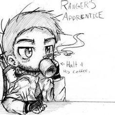 Rangers apprentice: halt and his coffee