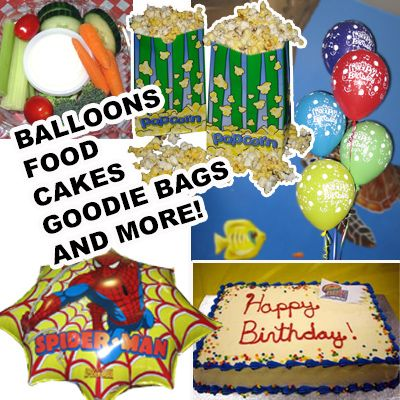 We have so much you can add to your party.  We are here to take the stress away and let us do it.