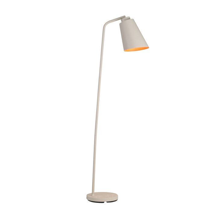 Wrought Studio Ripley Metal Goose Neck 57 Reading Floor Lamp Wayfair Ca Floor Lamp Reading Lamp Floor Lamp