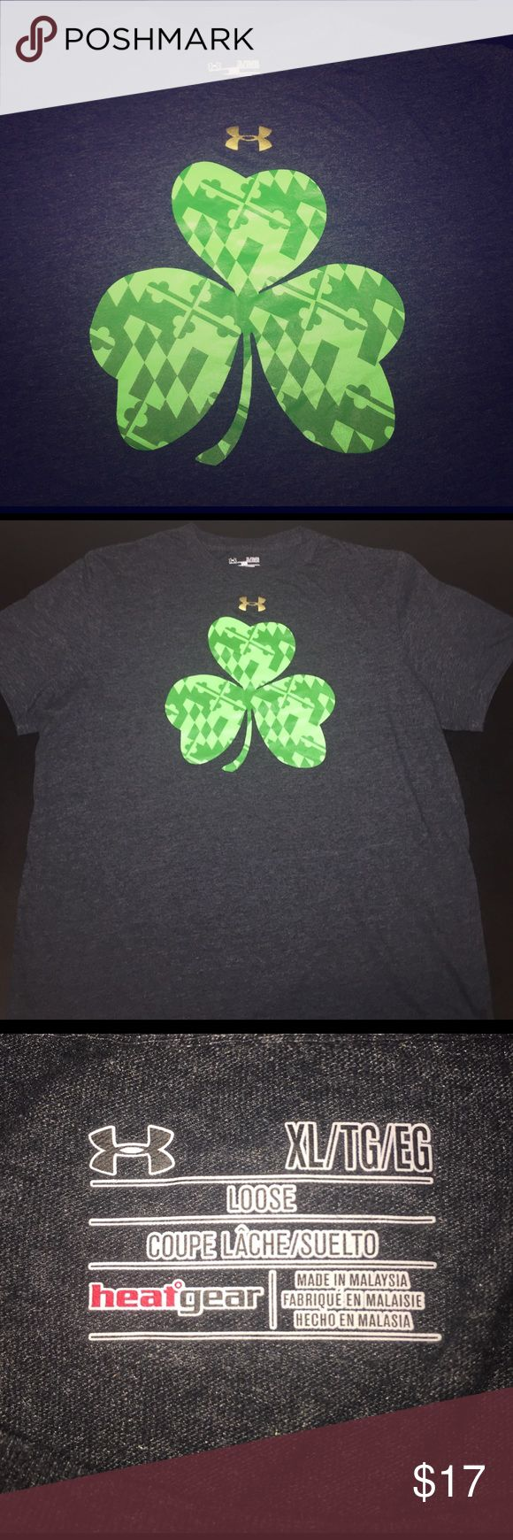 ☘️ Under Armour St. Patrick's Day Loose T-Shirt ☘️ For sale is a size XL, Men's Under Armour St. Patrick's Day Short Sleeve T Shirt. Item has been worn and washed but remains in great condition. Great for celebrating St. Patrick's Day both at the gym or out for festivities! Under Armour Shirts Tees - Short Sleeve