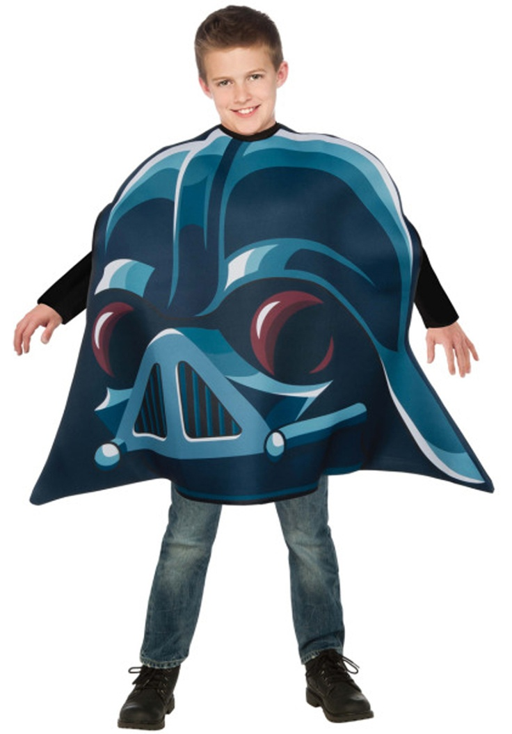 Angry Bird Darth Vader Costume - Child