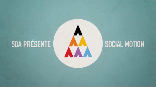 50A vous présente une animation présentant les réseaux sociaux les plus importants.  Un concentré d'informations chiffrées pour être à jour sur l'Internet social.