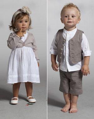 Mariage : 25 tenues pour les enfants