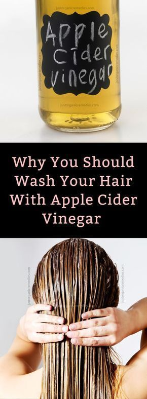Unfiltered apple cider vinegar works great for your hair and scalp. It cleanses your hair, giving it more body and luster, and it also prevents hair-loss. Apple cider vinegar relieves itchy scalp and eliminates dandruff by destroying any bacteria or fungi