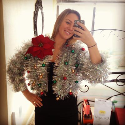 Best DIY Ugly Holiday Sweaters