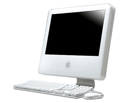 Apple iMac G5 de 24 polegadas. Uma máquina infernal. Durou 8 anos !!!