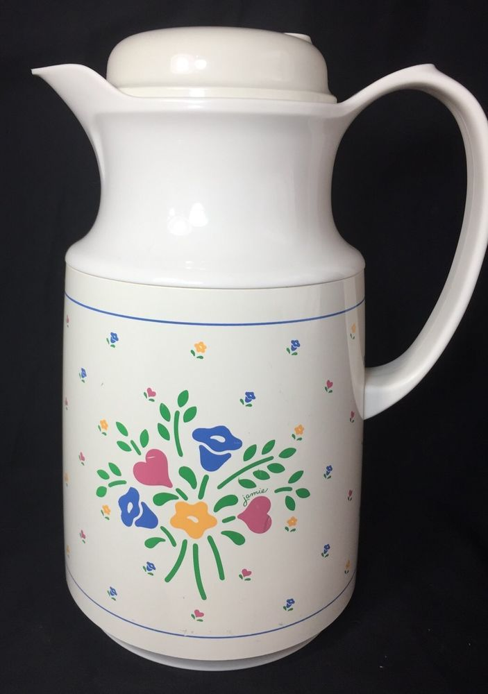 Vintage Thermos Coffee Butler Carafe Hoelga West Germany
