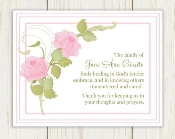 Funeral Card Messages Examples  Funeral Words For Cards