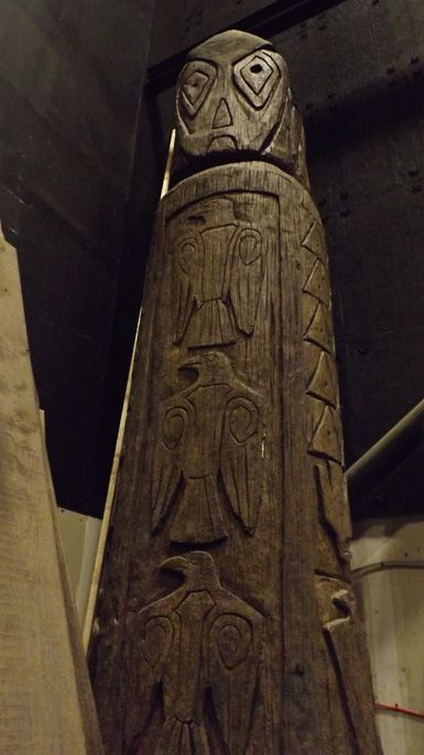 Odin's statue on Vikings