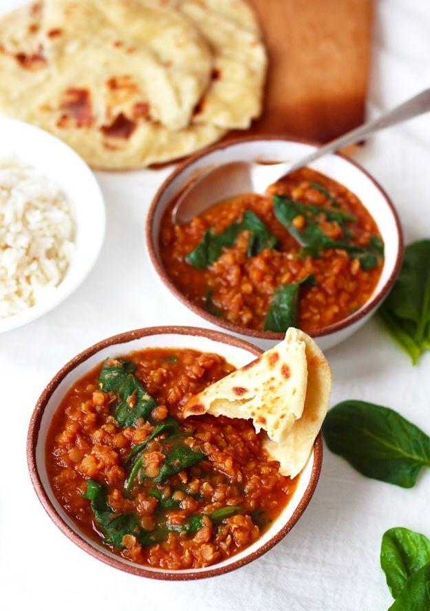 Indisches Dhal mit Roten Linsen (delicious food indian)