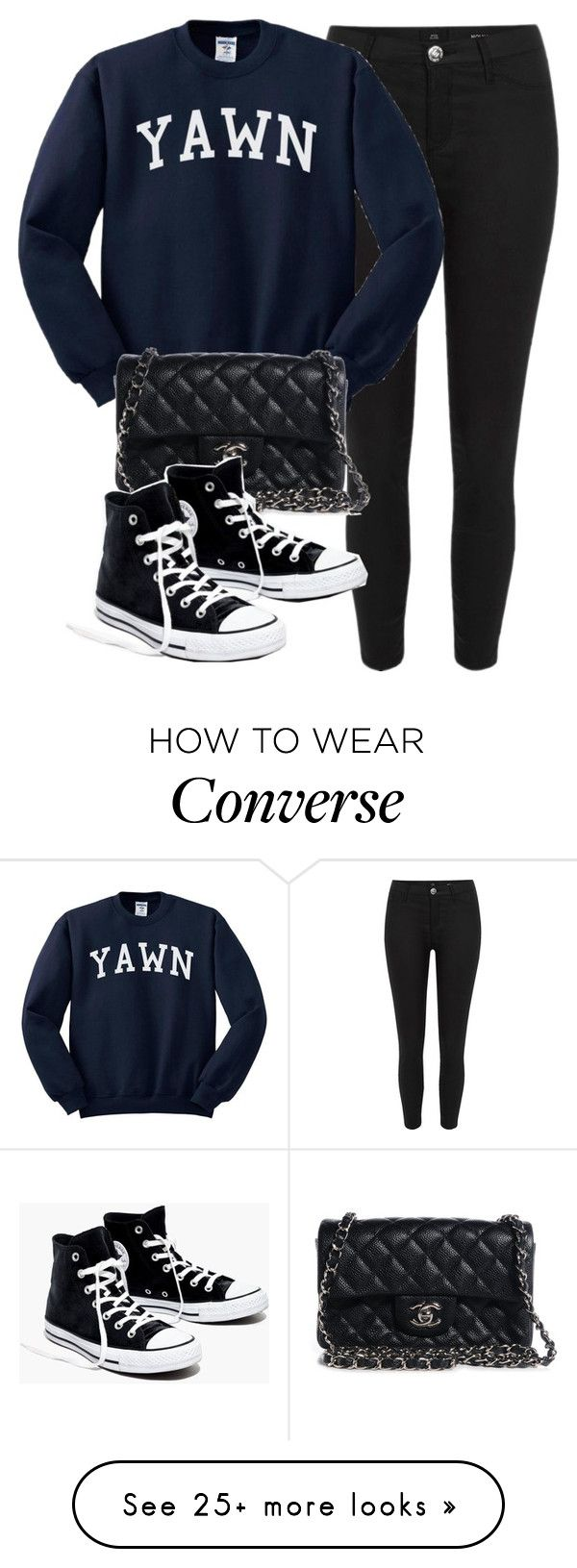 """Sin título #14206"" by vany-alvarado on Polyvore featuring River Island, Chanel and Madewell"