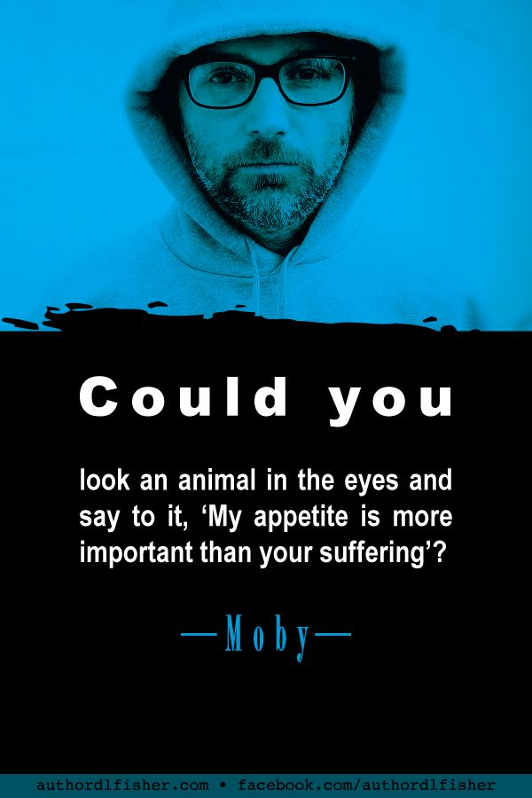 animal rights activist moby - 600×900