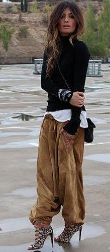 Madame De Rosa Alicia Bleye Pants Fall Streetstyle Inspo