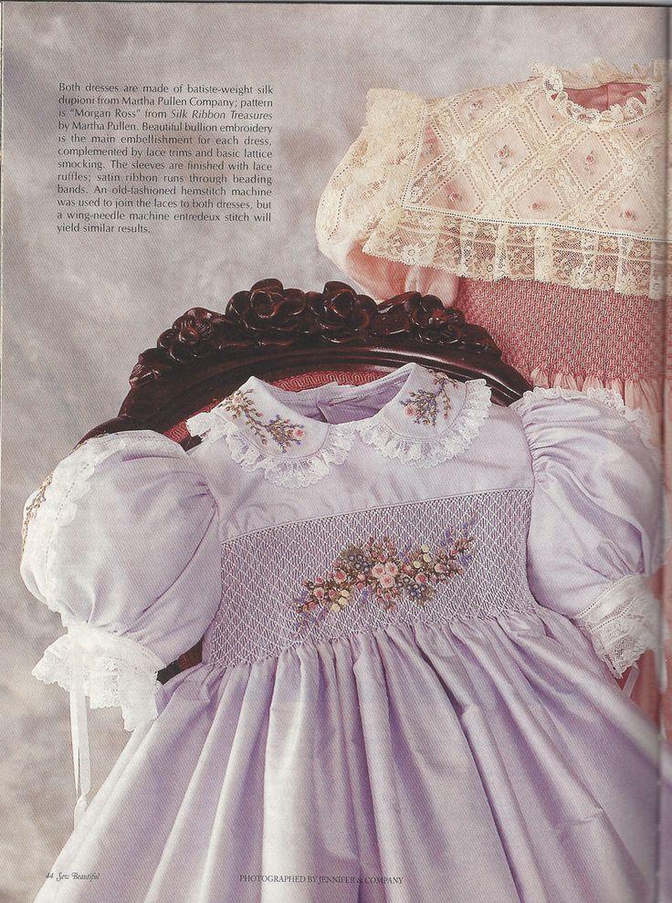 Sew Beautiful Martha Pullen May June 2001 Heirloom Sewing Smocking