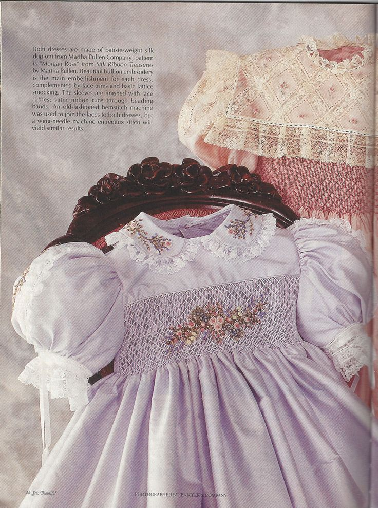 Sew Beautiful Heirloom Sewing Smocking Martha Pullen Magazine Lot 4pc 2003/2004