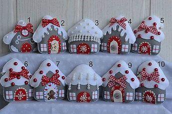 E.Creative / Vianočné domčeky