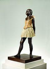 Edgar Degas 14-vuotias tanssijatar, 1879-1880 (1922 valettu), realismi