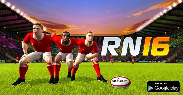 Rugby Nations 16 is now available on Google Play​ just in time for the Rugby World Cup​!  Get the game, help #CarryThemHome!  http://bit.ly/RN16Android