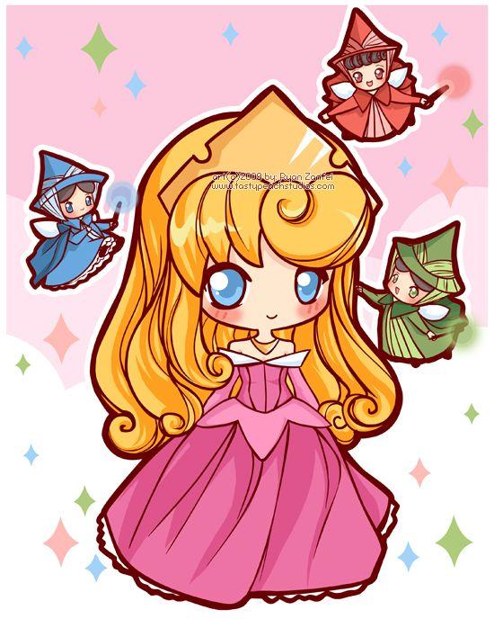 Chibi Disney Princess Rapunzel | ... temporada de Chibi Awnnn! com a conclusão de fantásticas aventuras
