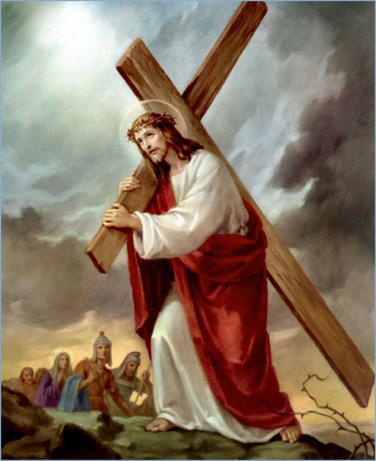 IV Mysteria dolorosa - Baiulatio Crucis / IV Tajemnica bolesna - Niesienie krzyża