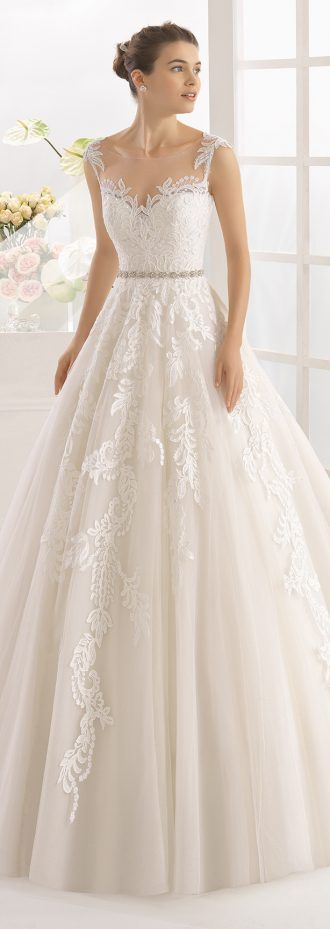 Wedding Dress by Aire Barcelona 2017 Bridal Collection 41