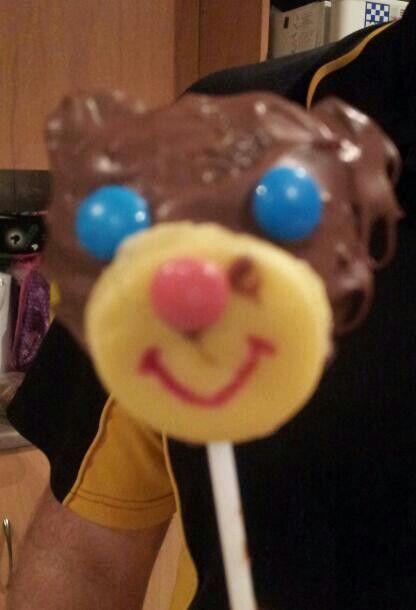 Crazy monkey cakepop