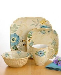 vintage pfaltzgraff | Pfaltzgraff Vintage Floral 16-piece Dinnerware Set | review | Kaboodle  sc 1 st  Pinterest & 136 best Pfaltzgraft images on Pinterest | Dishes Dinnerware and ...