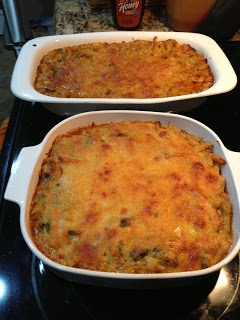 A lower carb version of Mac and Cheese!