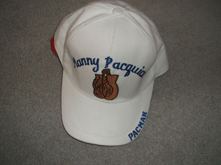 "Selling on vFLea.com - Manny ""Pacman"" Pacquiao new white ball cap"