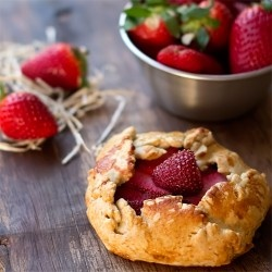 Strawberry Galette | pies & pastries | Pinterest