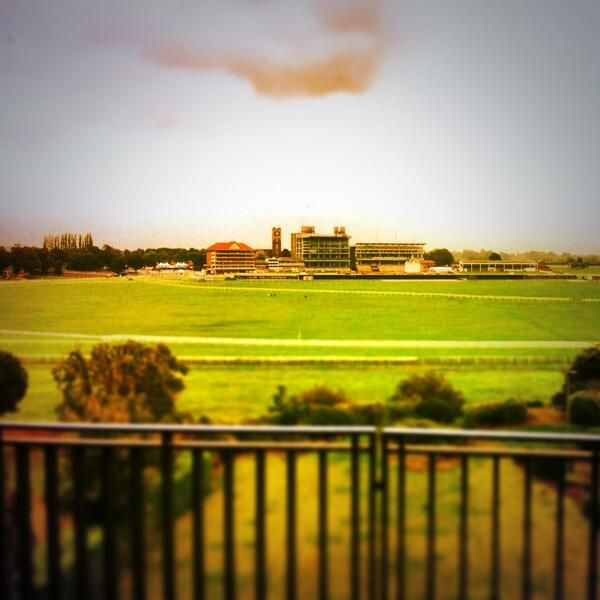 Stunning views of York Racecourse