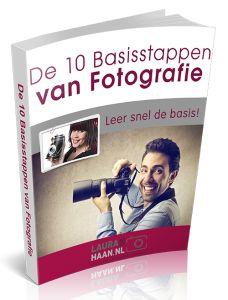 Plaatje E-book De 10 basisstappen van Fotografie nieuw