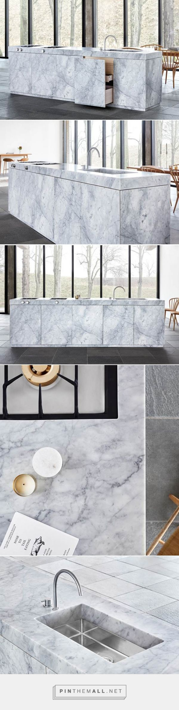 jonas lindvall presents marble kitchen concept for ballingslöv - created via https://pinthemall.net