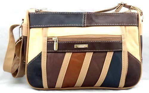 Ladies Soft Leather Designer Handbags lots of compartments Genuine Leather MULTICOLOUR with Purse, http://www.amazon.co.uk/dp/B00G8KETJY/ref=cm_sw_r_pi_awdl_oKZLvb03TZMAD