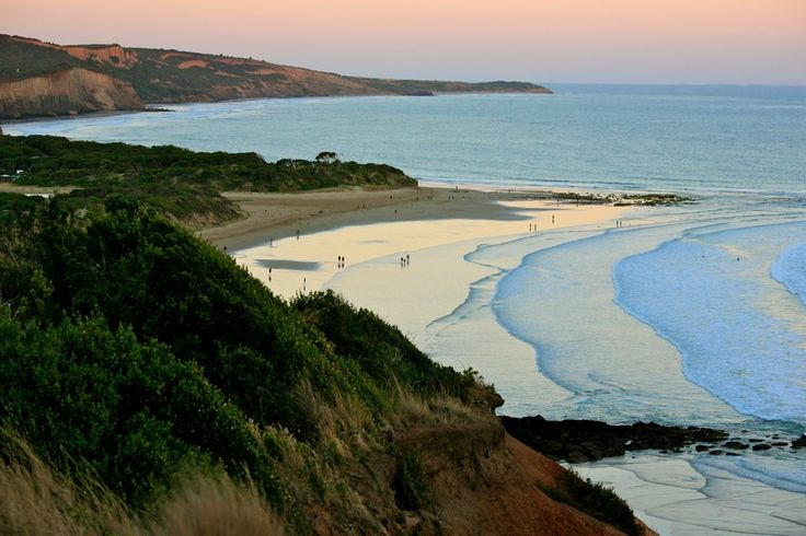 The stunning coastline and surf breaks of Victoria, Australia.  Just a hop, skip and a jump from Torquay
