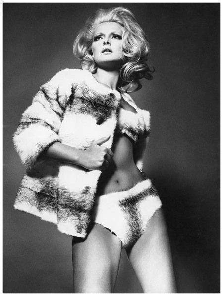 Virna Lisi Photo Willy Rizzo Milan 1961