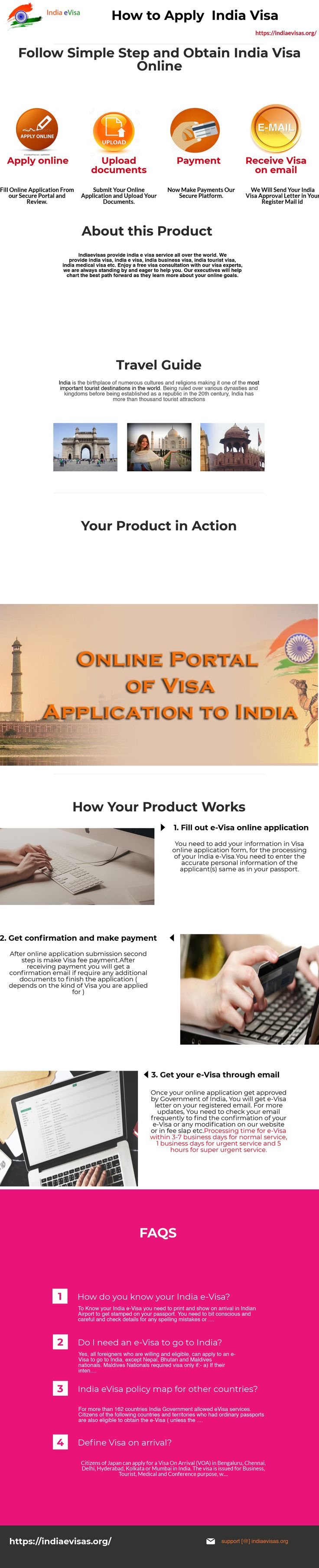 Best online portal of visa application to india. Follow