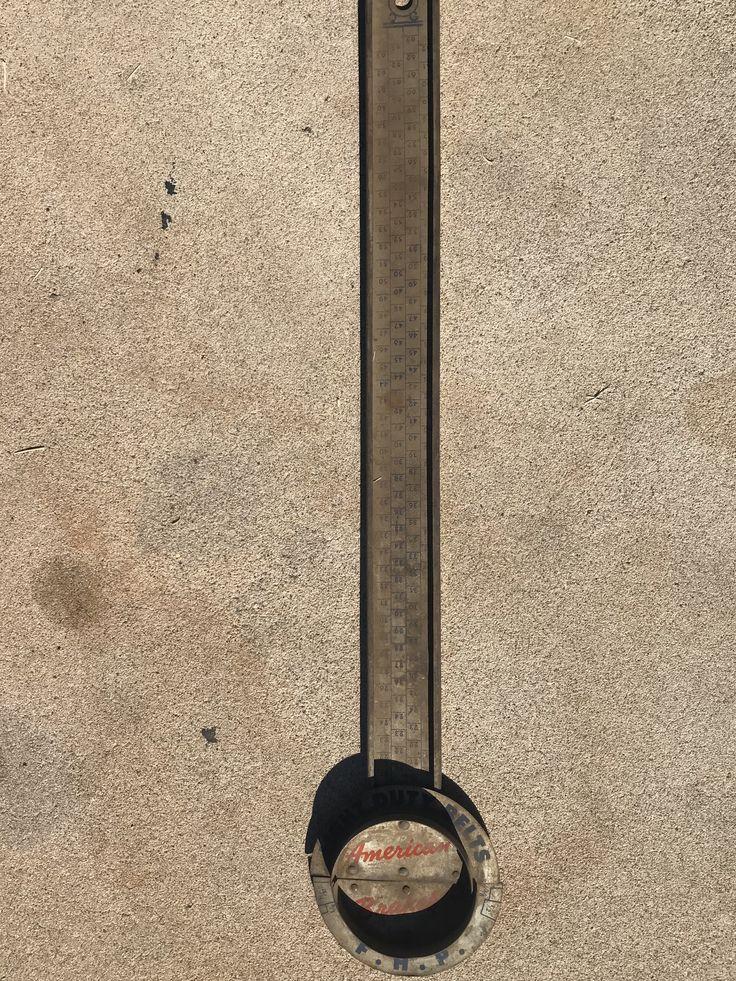 Motor Fan belt measuring tool in 2020 Porcelain signs