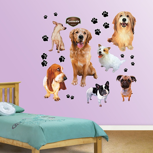 Dogs: Mickey Mouse, Wonder Women, Disney Fairies, Disney Princesses, Fathead Com, Wall Decals, Wall Stickers, Hello Kitty, Finding Nemo