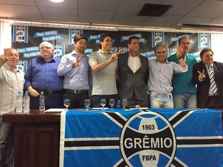 Oposição do Grêmio anuncia chapa com Danrlei e De León no futebol  #globoesporte