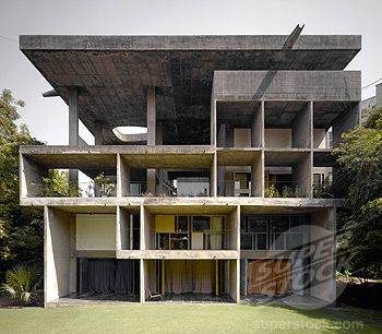 The Shodan House. Ahmedabad, India. 1956. Le Corbusier.