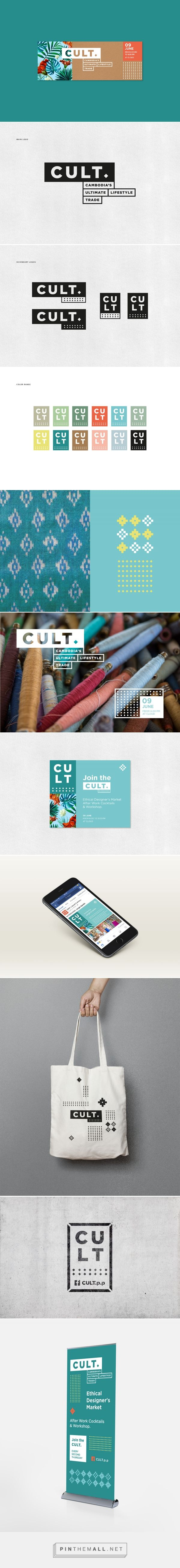 CULT. on Behance - created via https://pinthemall.net
