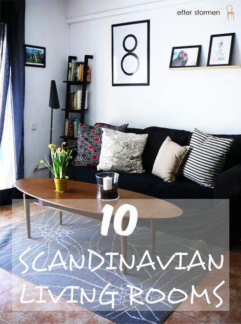 10 Scandinavian living rooms   10 Salones de estilo escandinavo