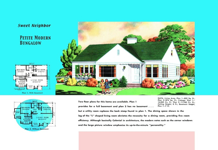 I know that house traditional yet minimal design house for 1950 bungalow house plans