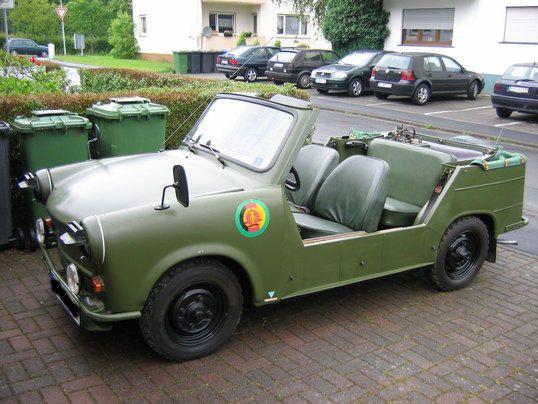 Trabant 601 Kubelwagen