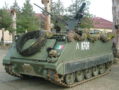 VTC M 113 A1    Veicolo da Trasporto e Combattimento VTC M 113 A1 con sistema d'arma TOW