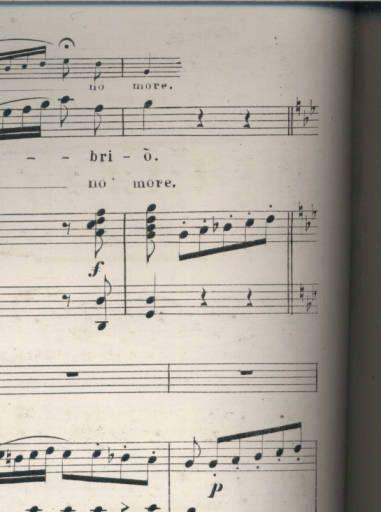 Musica di Verdi Pezzi per canto, con pianoforte. 22. Merce Dilette Amiche. Bolero. Dear friends of youth. Vespri Sicil. :: 19th Century American Sheet Music
