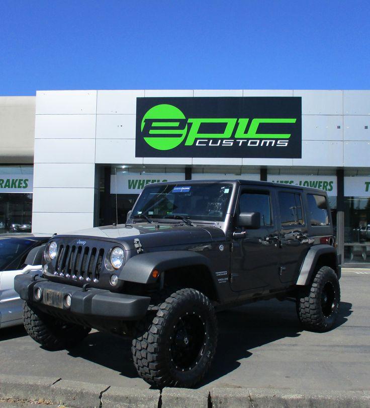 #jeep #wrangler #Tacoma #custom #customjeep #seattle #tacoma #pugetsound #epiccustoms #liftkit #lifted #roughcountry #dropstars #tires #wheels