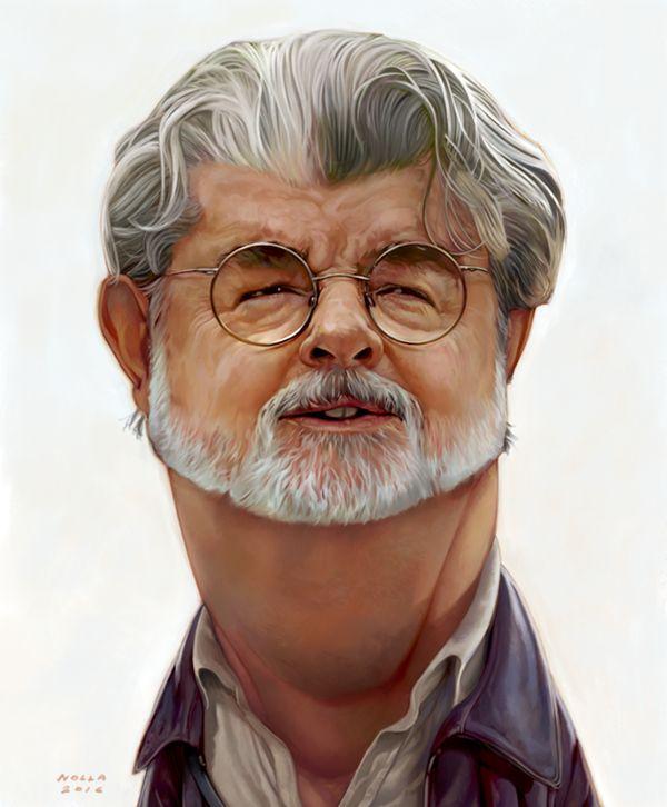 George Lucas Caricature