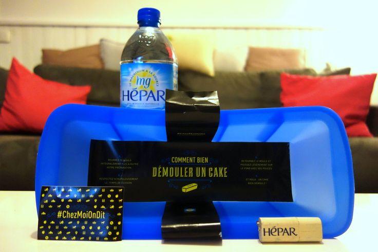 Campagne Hépar, démouler un cake